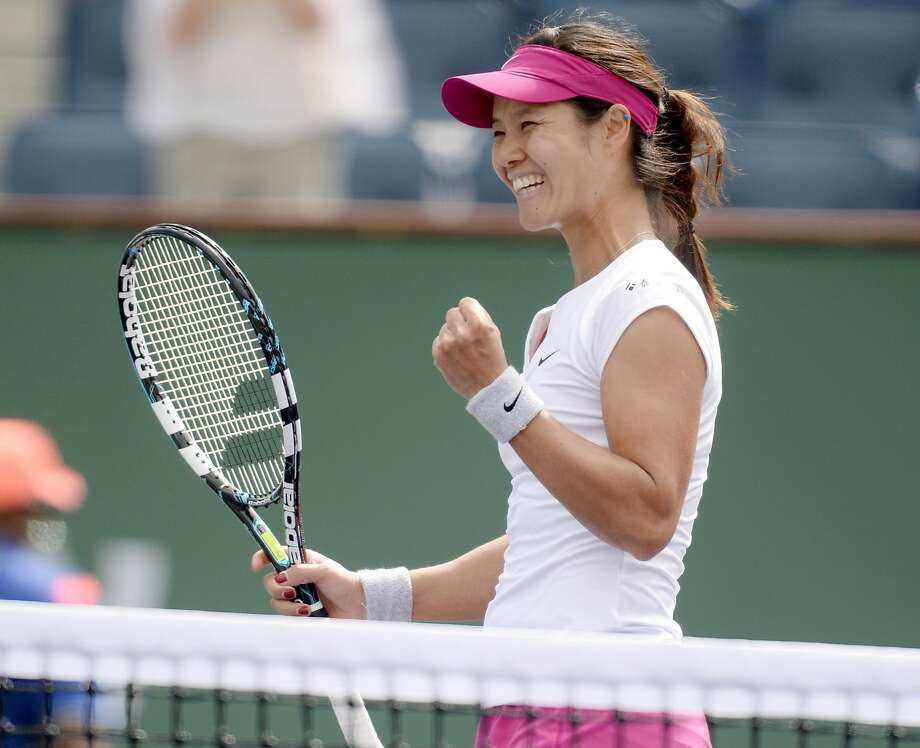 China's Li Na is 15-1 this year after getting by Dominika Cibulkova at Indian Wells. Photo: Jayne Kamin-Oncea, Reuters