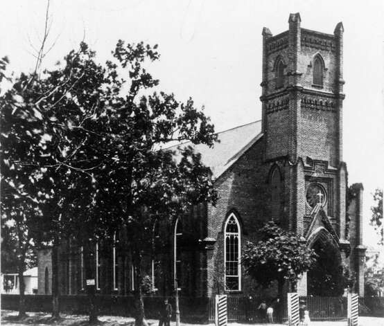 Christ Church Cathedral, 1860-1893 building. Photo: Houston Chronicle / Houston Chronicle