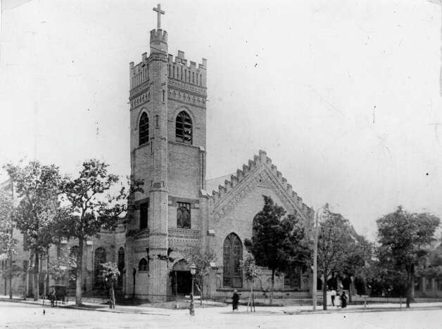 Christ Church Cathedral, date unknown. Photo: Houston Chronicle / Houston Chronicle