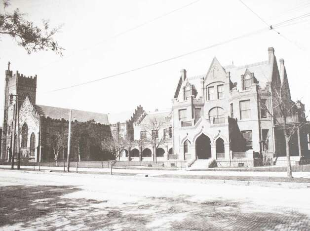 Second Christ Church Rectory, 1119 Texas Avenue at San Jacinto Street, built 1902 on the site of the first rectory, demolished 1949 to make way for the Latham Building, March 13, 2014 in Houston on display at Treebeards. Photo: Eric Kayne, For The Chronicle / Eric Kayne