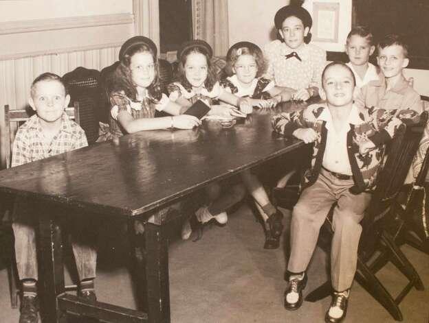 Sunday school circa 1950's, March 13, 2014 in Houston on display at Treebeards. Photo: Eric Kayne, For The Chronicle / Eric Kayne