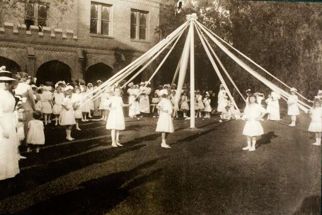 May Fete, circa 1914, March 13, 2014 in Houston on display at Treebeards. Photo: Chronicle File Photo / Eric Kayne