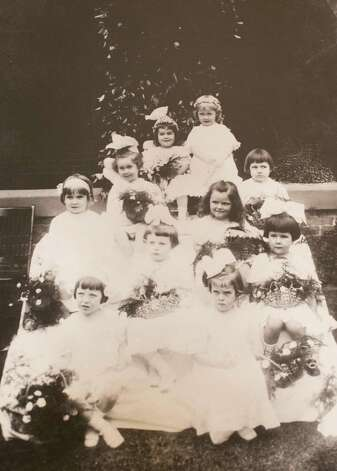 May Fete, circa 1912, March 13, 2014 in Houston on display at Treebeards. Photo: Chronicle Files / Eric Kayne