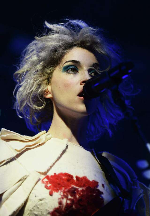 AUSTIN, TX - MARCH 12:  Musician St. Vincent performs during the NPR 2014 SXSW Music, Film + Interactive show at Stubbs on March 12, 2014 in Austin, Texas. Photo: Michael Loccisano, Getty Images For SXSW / 2014 Getty Images