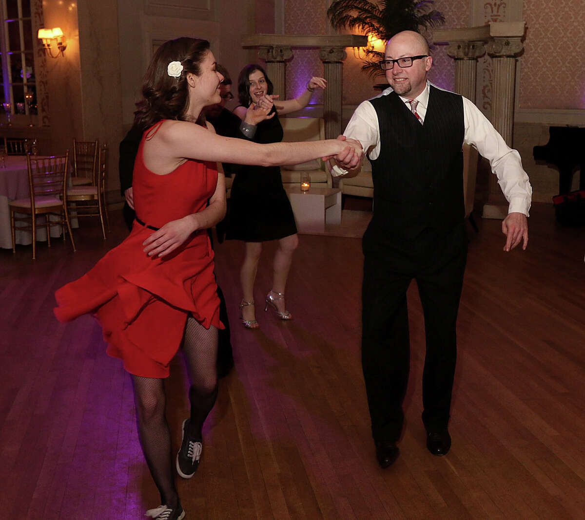 Were you Seen at the 34th Annual Spring Swing Gala, honoring the Community Foundation for the Greater Capital Region, to benefit the Troy Savings Bank Music Hall, at Franklin Plaza in Troy on Thursday, March 13, 2014?