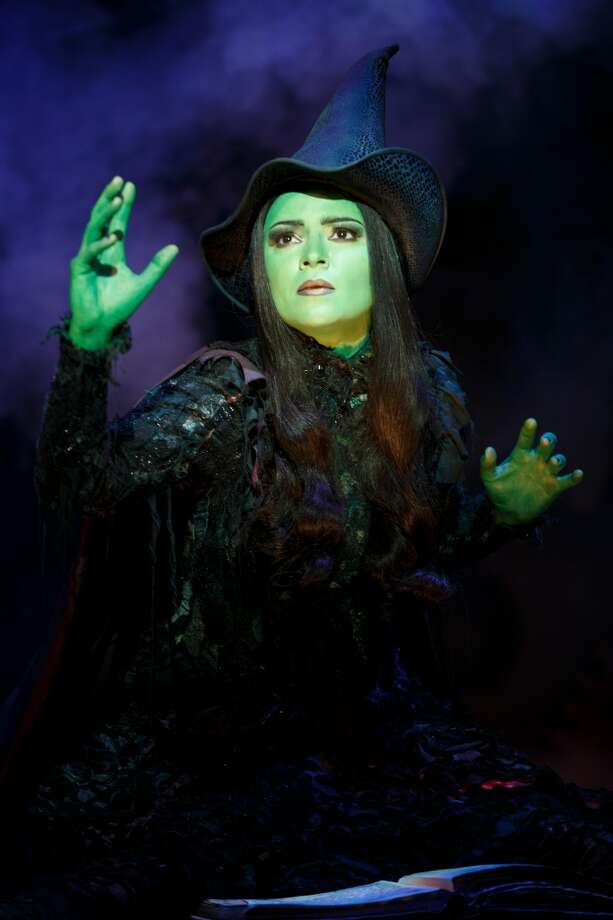 "Jennifer DiNoia plays Elphaba in the national tour of ""Wicked."" Photo courtesy of Joan Marcus. Photo: ©2013 Joan Marcus"