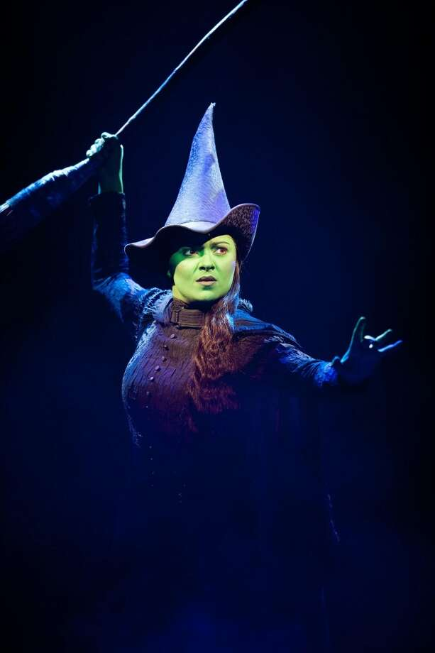 "Jennifer DiNoia plays Elphaba in the national tour of ""Wicked."" Photo courtesy of Joan Marcus."