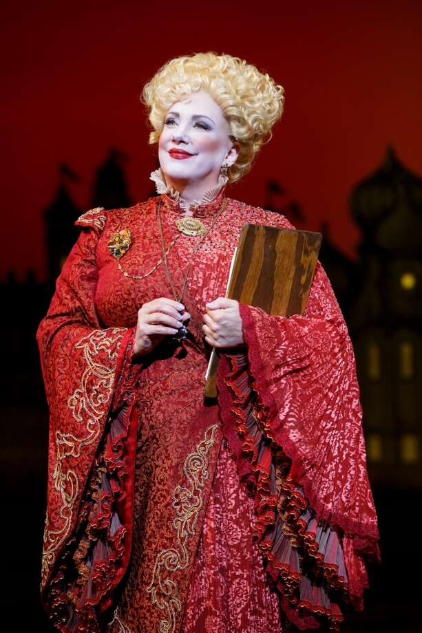 "Kathy Fitzgerald plays Madame Morrible in the national tour of ""Wicked."" Photo courtesy of Joan Marcus. Photo: ©2013 Joan Marcus"