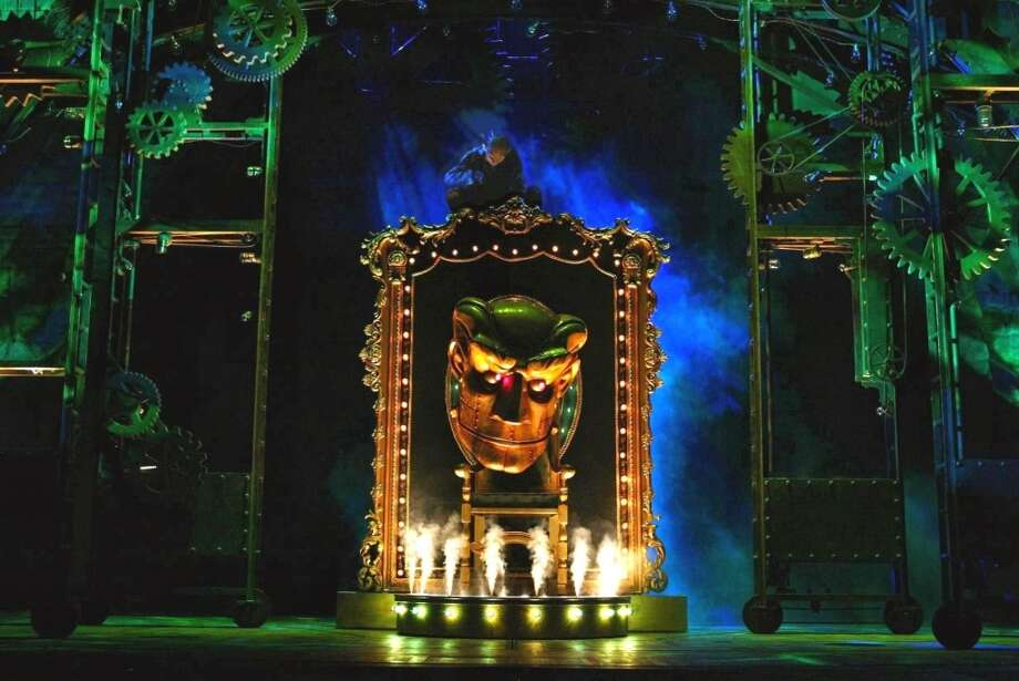 "The national tour of ""Wicked"" is currently playing at the Majestic Theatre. Photo courtesy of Joan Marcus."