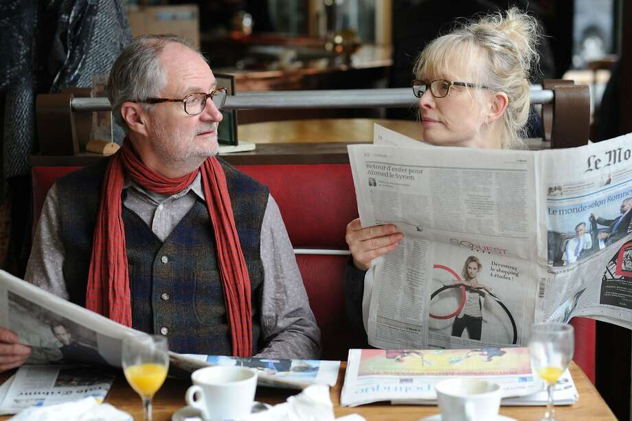 "Jim Broadbent and Lindsay Duncan play a couple on a second honeymoon in ""Le Week-End,"" directed by Roger Michell, right. Photo: Music Box Films"