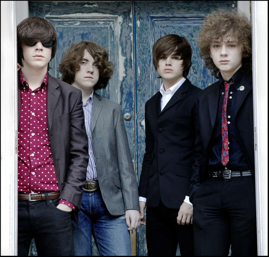 The Strypes, an Irish band that is playing Saturday in S.F., prefer vintage R&B sounds over the pop music of today. Photo: The Strypes By Jill Furmanovsky, Shore Fire