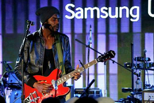 AUSTIN, TX - MARCH 13:  Musician Gary Clark, Jr. performs onstage as Samsung Galaxy presents Gary Clark, Jr. and Janelle Monae at SXSW on March 13, 2014 in Austin, Texas. Photo: Rick Kern, Getty Images For Samsung / 2014 Getty Images