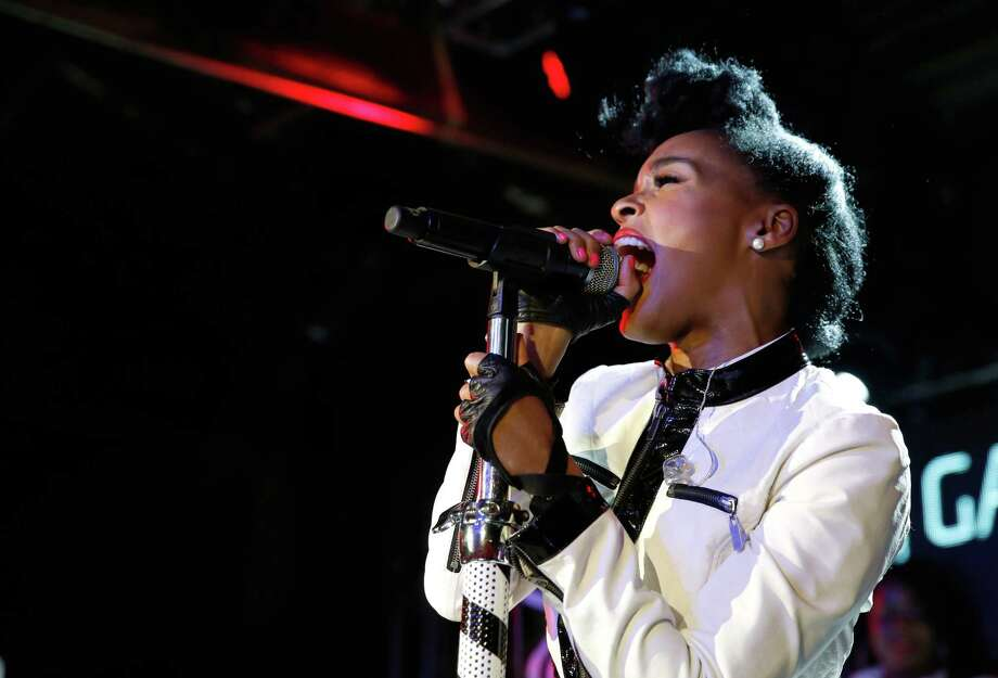 AUSTIN, TX - MARCH 13:  Musician Janelle Monae performs onstage as Samsung Galaxy presents Gary Clark, Jr. and Janelle Monae at SXSW on March 13, 2014 in Austin, Texas. Photo: Rick Kern, Getty Images For Samsung / 2014 Getty Images