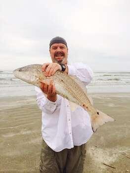 Caught on the beach in Galveston - Michael McGaha.