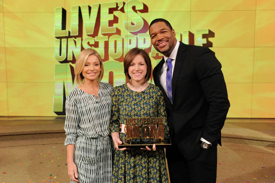 Lauren Perkins was one of four finalists from more than 20,000 entries in the Unstoppable Mom contest.  She won $10,000 and a 7 day trip to a luxury resort in Florida. Photo: David Russell/Disney-ABC Domestic TV / 2014 Disney ABC. All Rights Reserved.