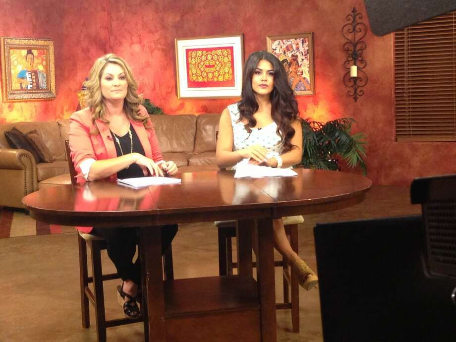 'Living' mainstay Shelly Miles with rotating co-host Alanna Sarabia. Photo: Courtesy