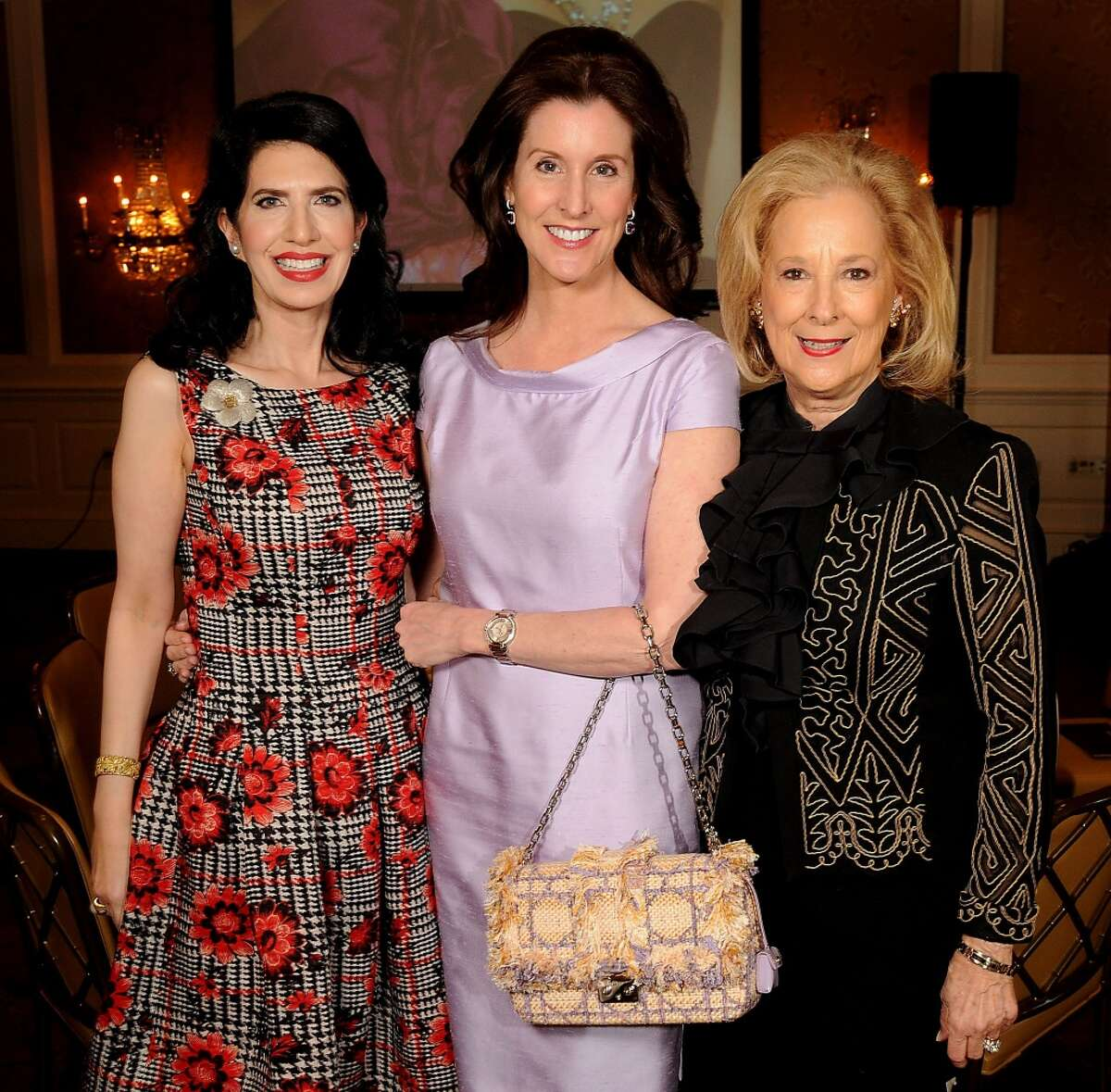 From left: co-chair Kelli Cohen Fein, honoree Phoebe Tudor and co-chair Mary Ann McKeithan