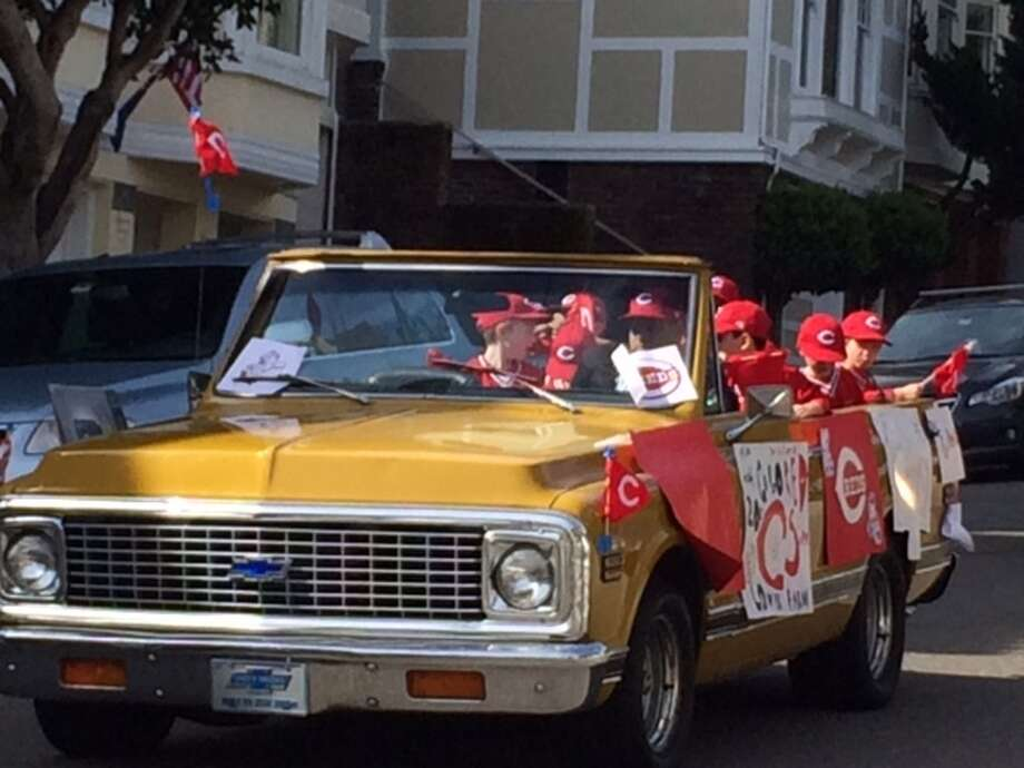 The San Francisco Little League Parade, 2014. The Chronicle/Sam Whiting
