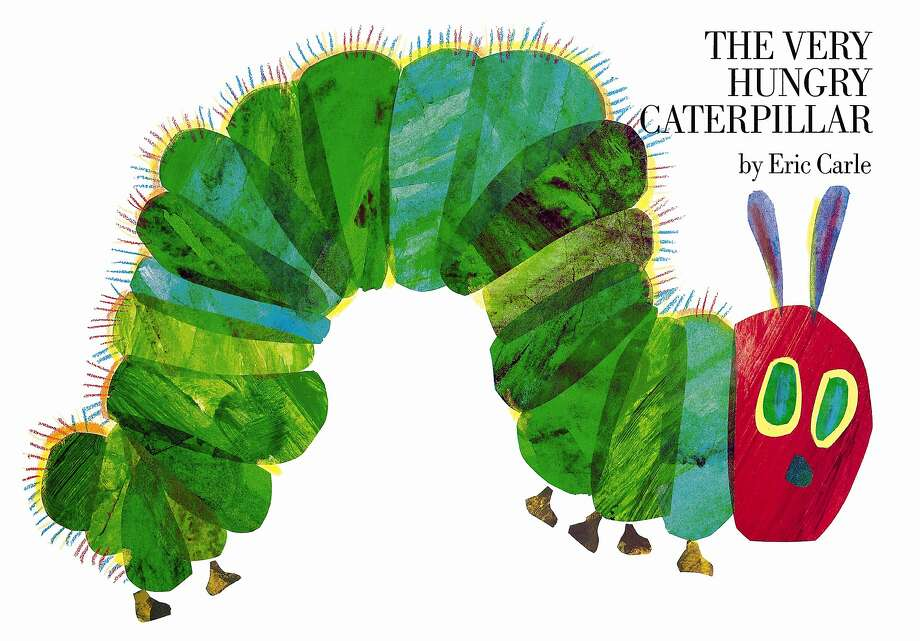 "Eric Carle's colorful tale ""The Very Hungry Caterpillar"" has been amusing young readers for 45 years. Photo: Chronicle Books"