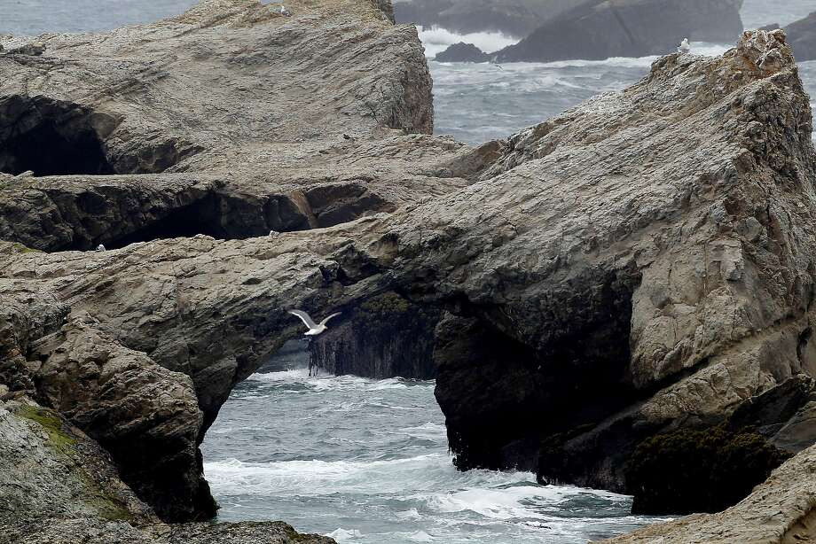 Mendocino County's Arch Rock near the town of Point Arena is just one of the many California coastline jewels now protected as part of a national preserve. Photo: Brant Ward, Associated Press