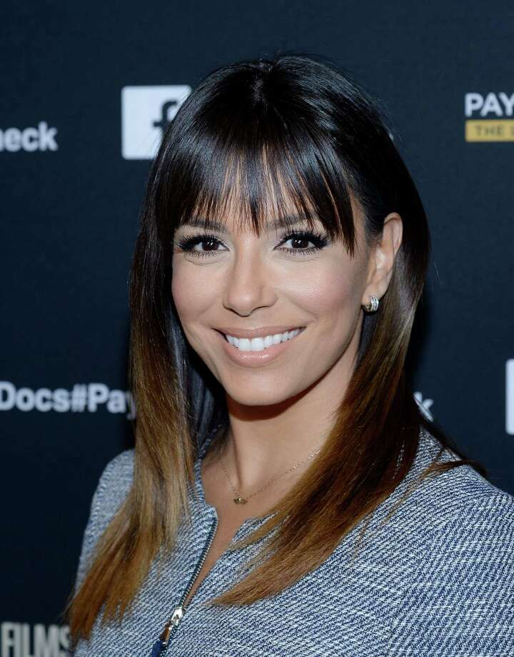 """HOLLYWOOD,CA - MARCH 10: Actress Eva Longoria attend the HBO Documentary Films' """"Paycheck To Paycheck"""" at Linwood Dunn Theater at the Pickford Center for Motion Study on March 10, 2014 in Hollywood, California.  (Photo by Kevork Djansezian/Getty Images) Photo: Kevork Djansezian, Stringer / 2013 Getty Images"""