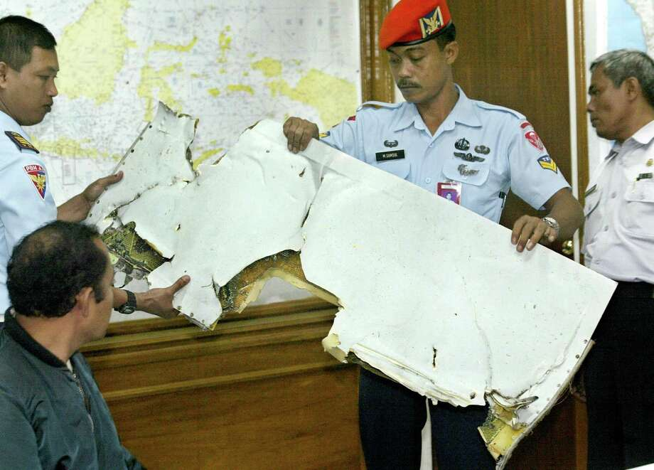 A Boeing 737 operated by the Indonesian airline and carrying 