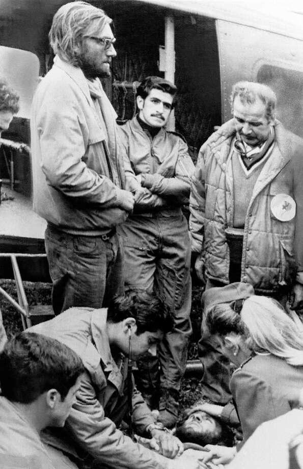 In 1972, a Fairchild FH-227 turboprop carrying a  rugby team and others crashed in the Andes mountains. More than a dozen  occupants died. After waiting to be rescued, some survivors hiked out  and found help, and other survivors were airlifted to safety. Before  being found, they resorted to cannibalism. The crash became the subject  of books, documentaries and a feature film. Photo: Associated Press / AP1972