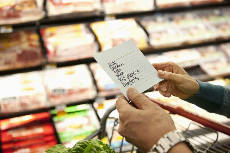 One of the simplest ways to save money on groceries doesn't require shearing, sorting, matching and stacking coupons. It's as easy as: 1. Writing a list. 2. Remembering to bring said list to the store. 3. Sticking to the list.