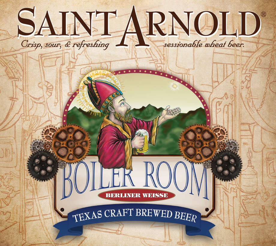 Boiler Room Berliner Weisse will be released by Saint Arnold Brewing Co. March 19, 2004. It will be the first new year-round beer for the brewery in two years. Photo: Saint Arnold Brewing Co.