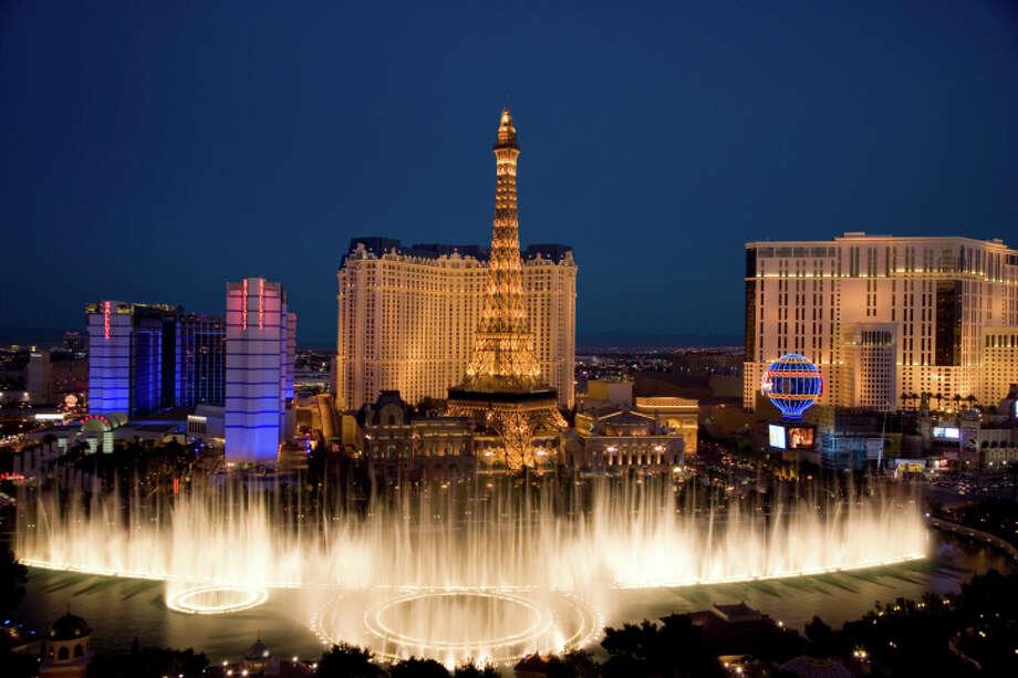 3: Las Vegas, Nevada  Watts per person: 77.62 Photo: Karl Weatherly, Getty Images / (c) Karl Weatherly
