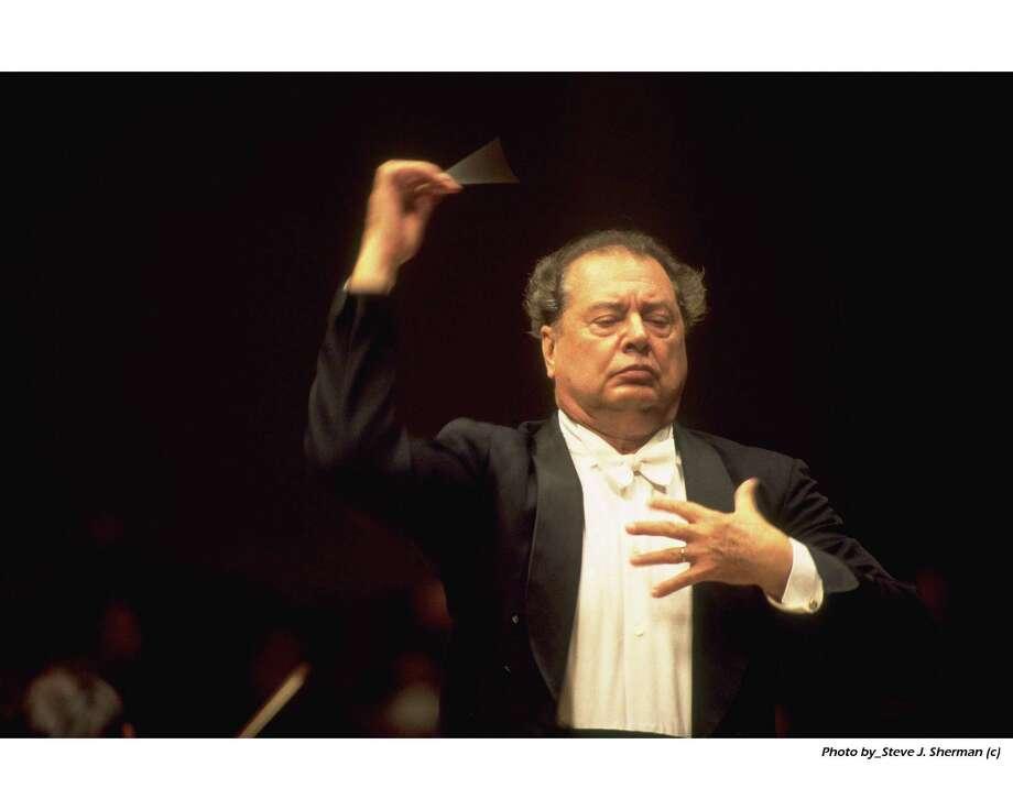 Conductor Rafael Fruhbeck de Burgos died June 11. Photo: Steve J. Sherman