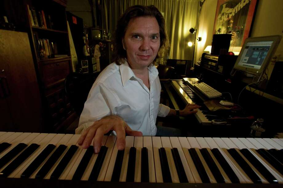 Composer Jeff Walton, a Pearland native, has built a career creating film scores and other works without leaving the Houston area for Los Angeles or New York. Photo: James Nielsen, Staff / Houston Chronicle