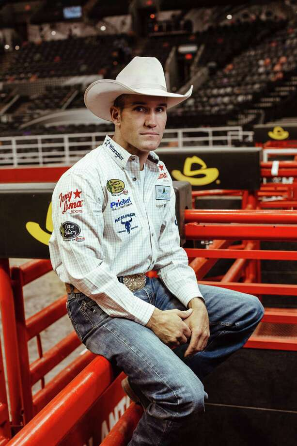 Bobby Mote poses for a photo at the San Antonio Rodeo at the AT&T Center in San Antonio, TX on Friday, February 21st, 2014. (Josh Huskin/Houston Chronicle) Photo: Josh Huskin / www.joshhuskin.com