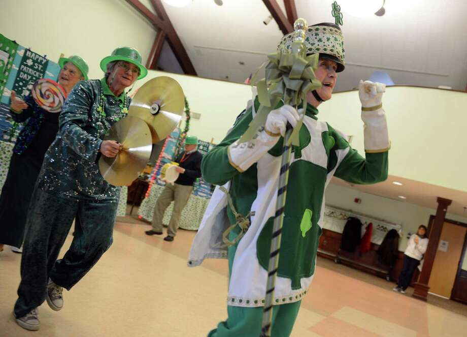 The Baldwin Players present their St. Patrick's Revue Friday, Mar. 14, 2014 at the Baldwin Center in Stratford, Conn. Photo: Autumn Driscoll / Connecticut Post
