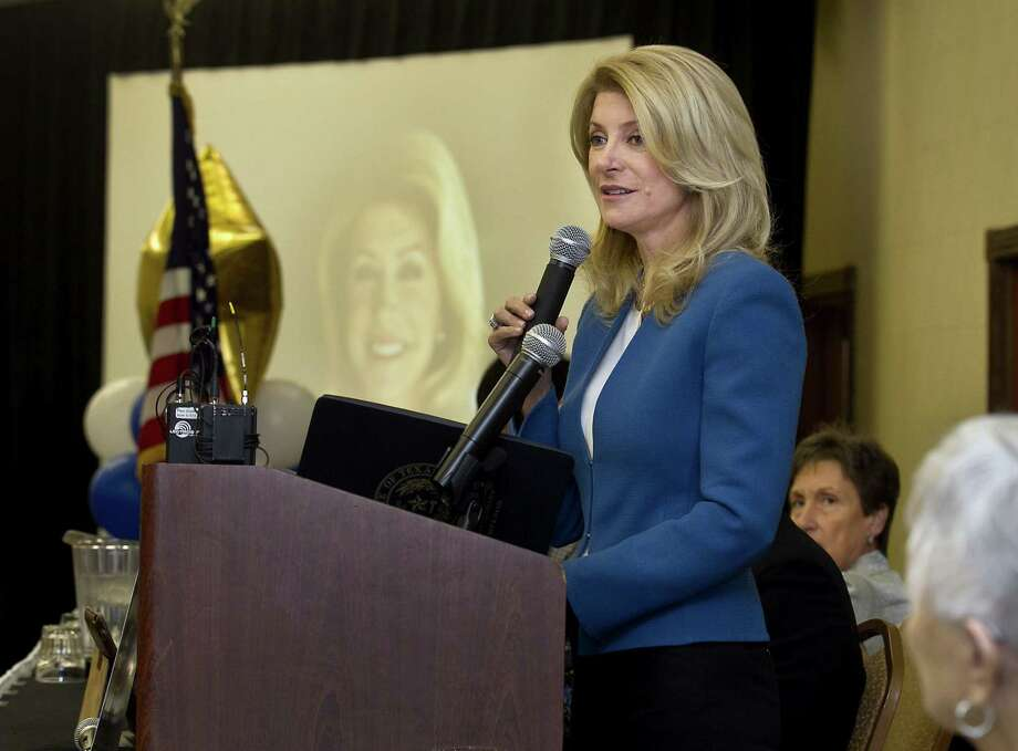 The warped ethical lens of the Legislature distorts the conflicts facing Sen. Wendy Davis and other lawmakers. Photo: Laura Skelding / Associated Press / Austin American-Statesman