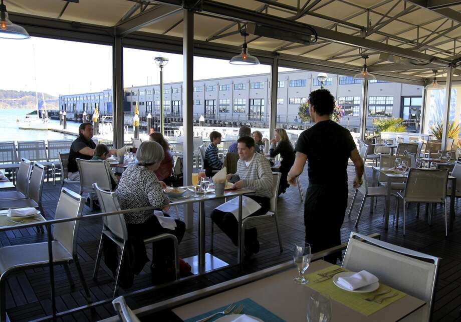 La Mar (Pier 1.5 The Embarcadero, San Francisco,): Peruvian food and cocktails looking out to the bay. Photo: Brant Ward, The Chronicle