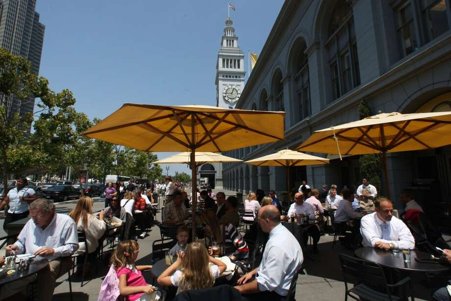 Marketbar in the Ferry Building. Photo: Liz Hafalia, The Chronicle