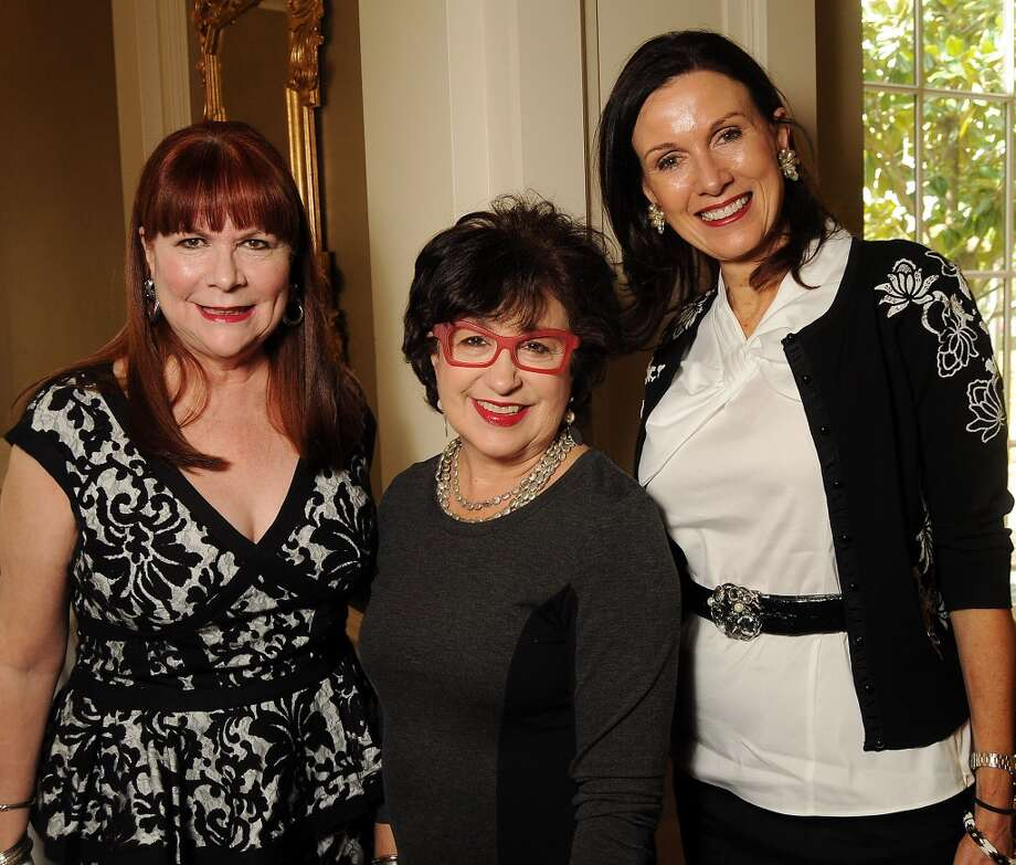 "From left: Barbara Van Postman, Roz Pactor and Karen Love at the MS ""On the Move"" Luncheon at the River Oaks Country Club Friday March 14, 2014.(Dave Rossman photo) Photo: Dave Rossman, For The Houston Chronicle"