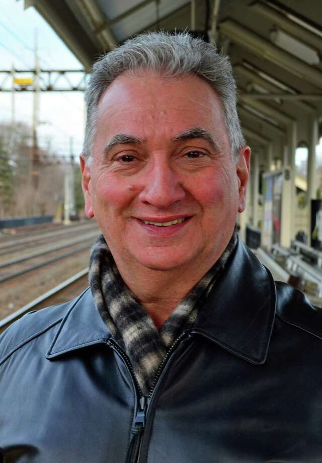 "Frank Noia, Shelton: ""My concern is safety more than trains being on time. I value my life more than I do getting to work on time or getting home on time."" Photo: Megan Spicer / Stamford Advocate"