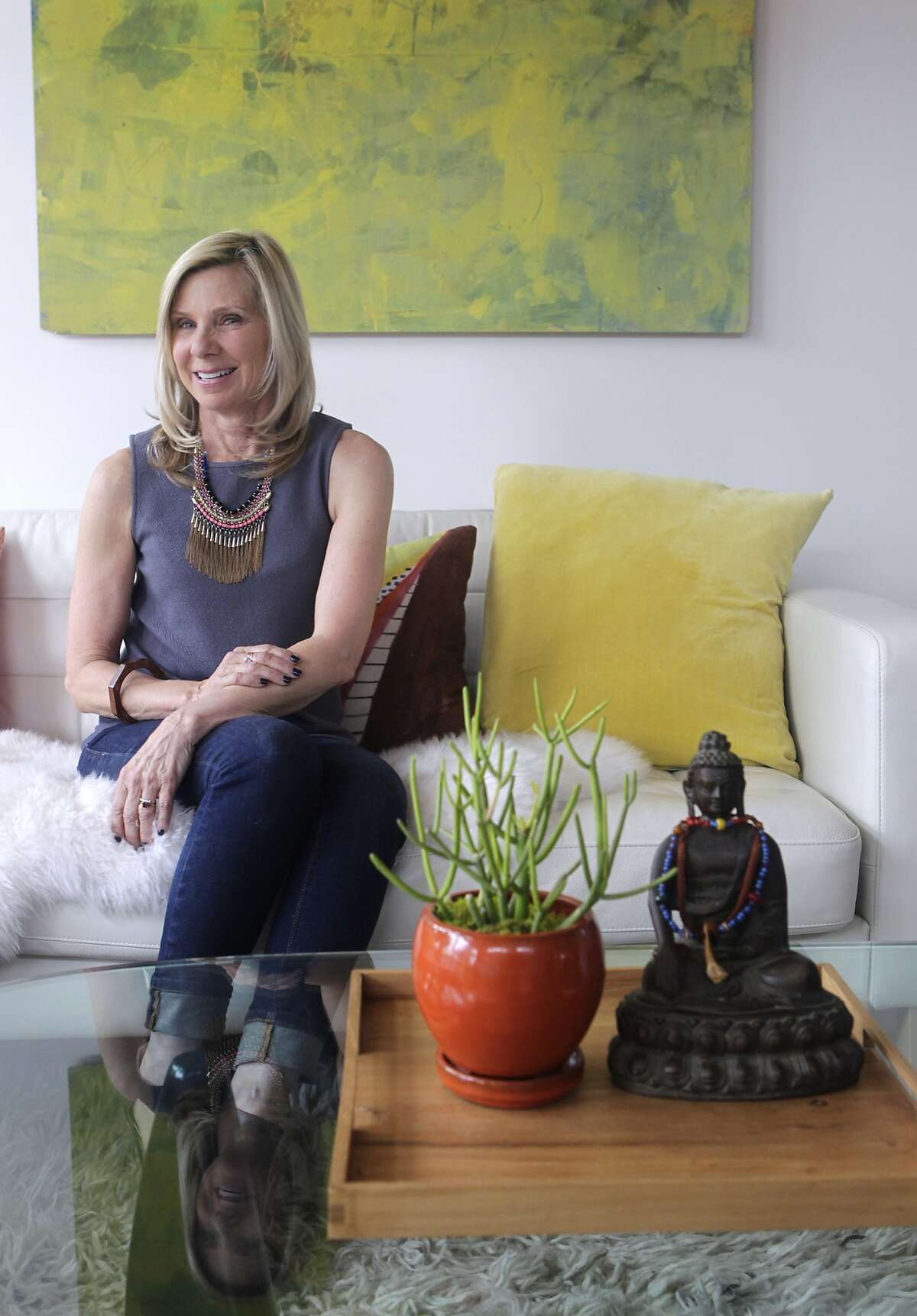 Interior designer Jill McCoy is seen at her home in Berkeley, Calif. on Wednesday, March 5, 2014.