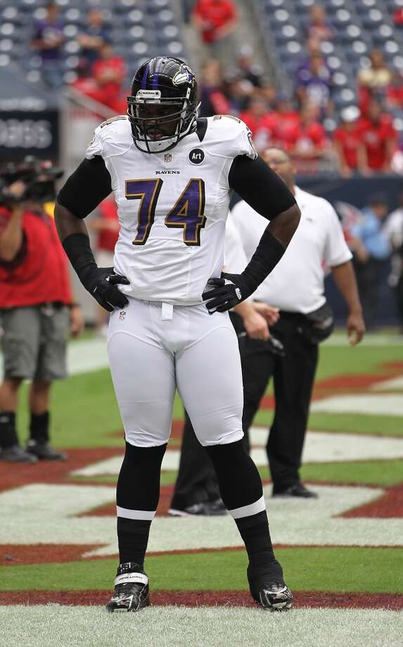 Michael Oher  Position: OT  Status: Signed with Tennessee Titans Photo: Karen Warren, Houston Chronicle