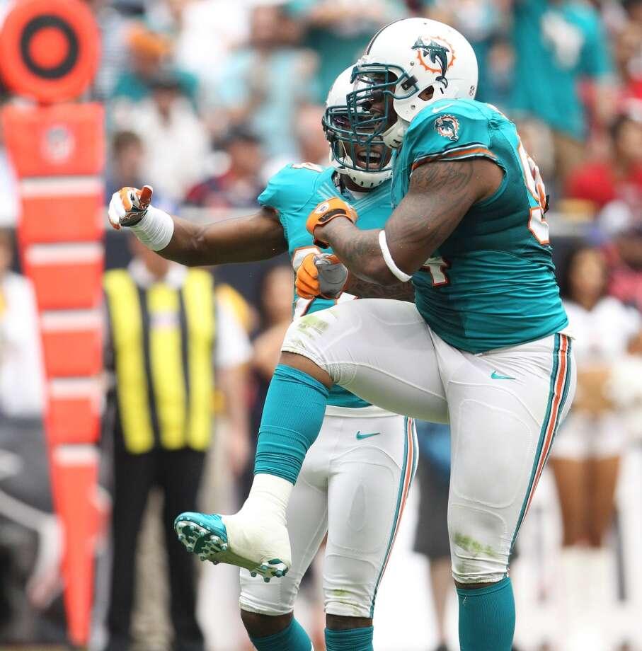No. 19– Miami Dolphins, $215.63. Photo: Karen Warren, Houston Chronicle