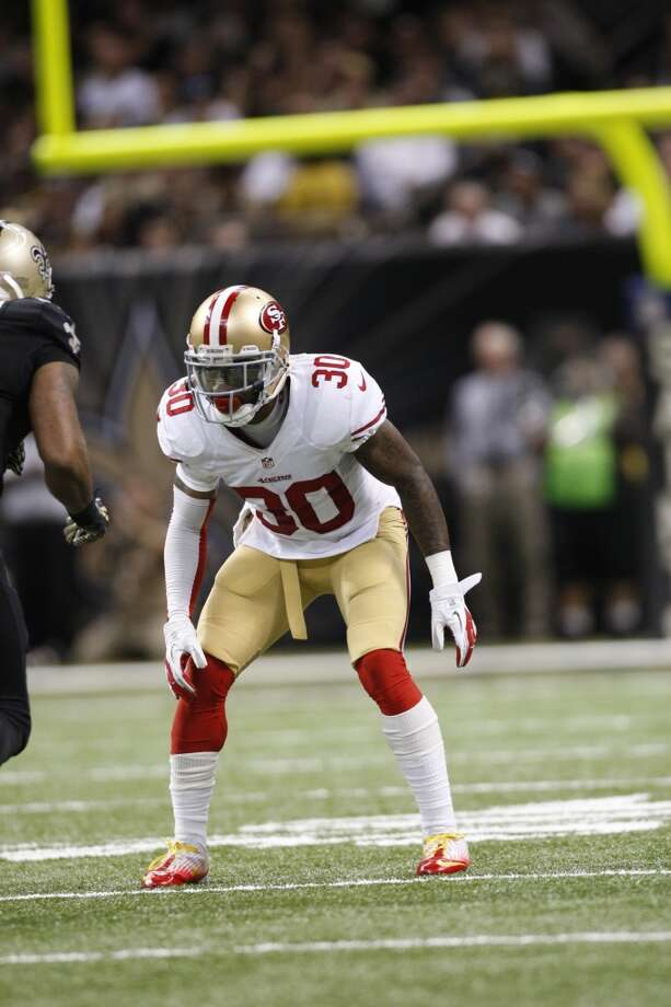 Eric Wright  Position: CB  Status: Re-signed with San Francisco 49ers Photo: Michael Zagaris, Getty Images