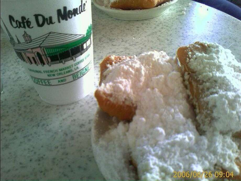 3. New Orleans, La. - You have to drink this city's famous coffee at Café du Monde with sweet beignets. It's tourist law. (Photo: Rochelle, just rochelle,  Commons Flickr).