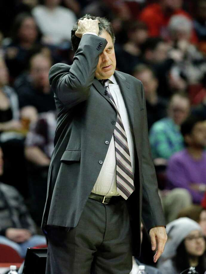 The Rockets' play two losses into a three-game trip has Kevin McHale befuddled. Photo: Nam Y. Huh, STF / AP