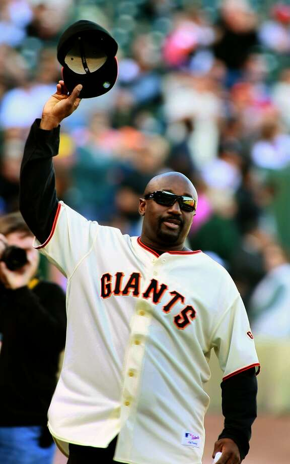 Jeffrey Leonard says his 1987 MVP in the NLCS is just a reminder of a losing effort. Photo: Lance Iversen, The Chronicle