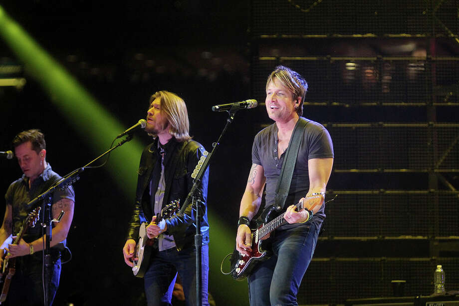 Keith Urban performs at the Houston Livestock show and Rodeo. Photo: Pin Lim, For The Chronicle / Copyright Pin Lim.