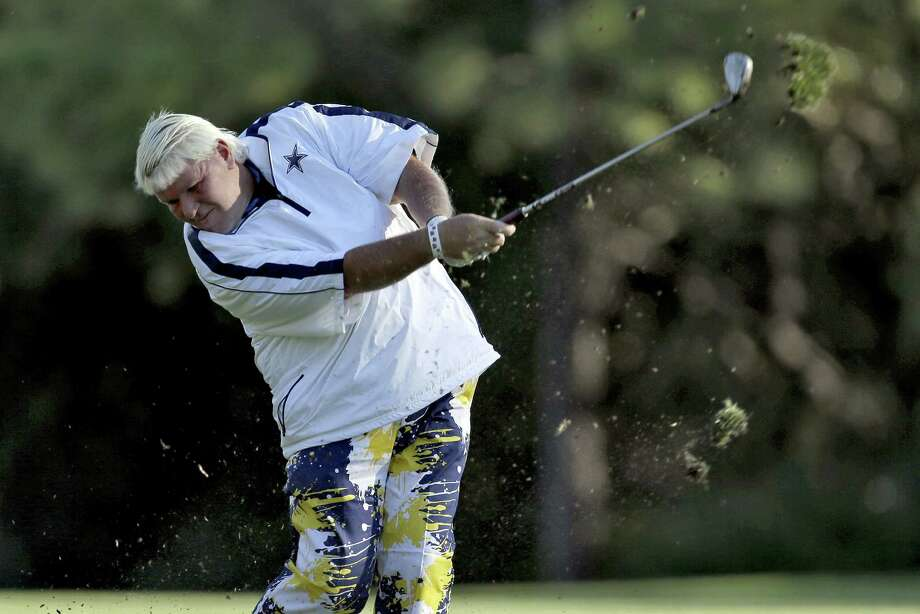 "John Daly, who carded what he called a ""good 12"" on No. 16, had the worst round of his career Friday. Photo: Chris O'Meara / Associated Press / AP"