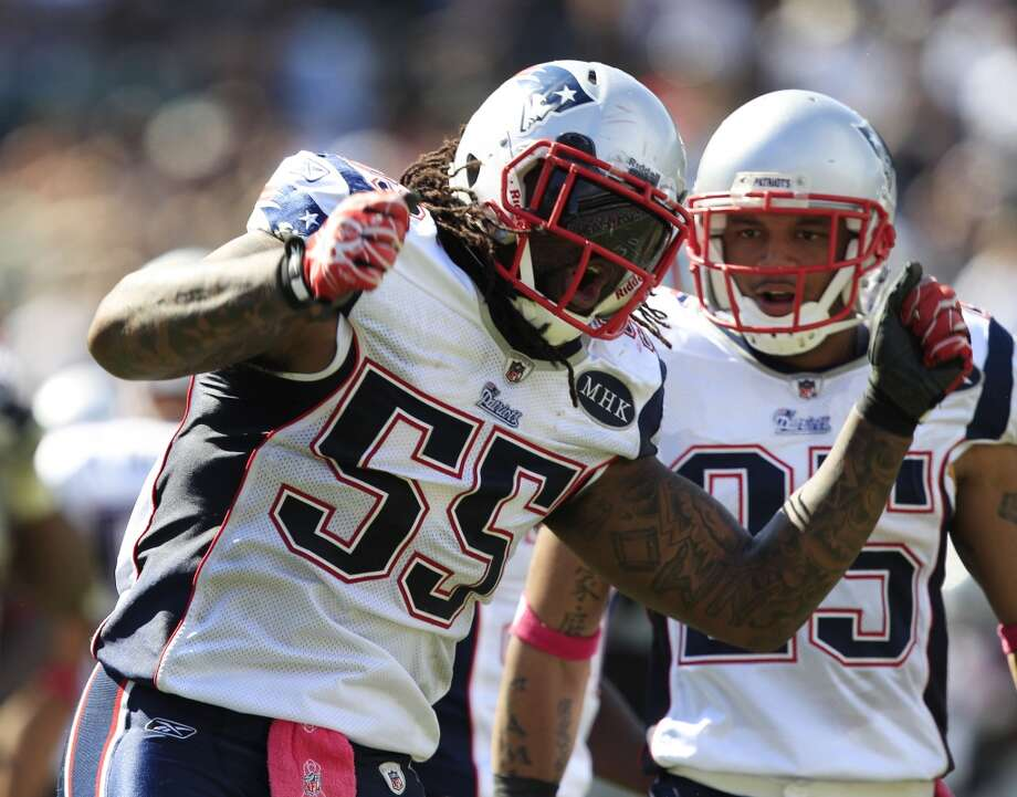 Brandon Spikes  Position: LB  Status: Signed with Buffalo Bills Photo: Marcio Jose Sanchez, Associated Press