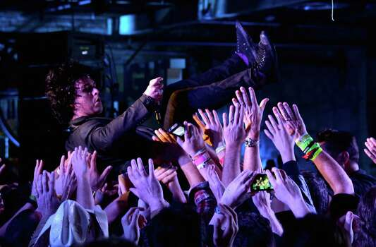 AUSTIN, TX - MARCH 14:  Billie Joe Armstrong of Foxboro Hot Tubs performs at Yahoo's Brazos Hall during 2014 SXSW Music, Film + Interactive Festival on March 14, 2014 in Austin, Texas. Photo: Michael Buckner, Getty Images For SXSW / 2014 Getty Images
